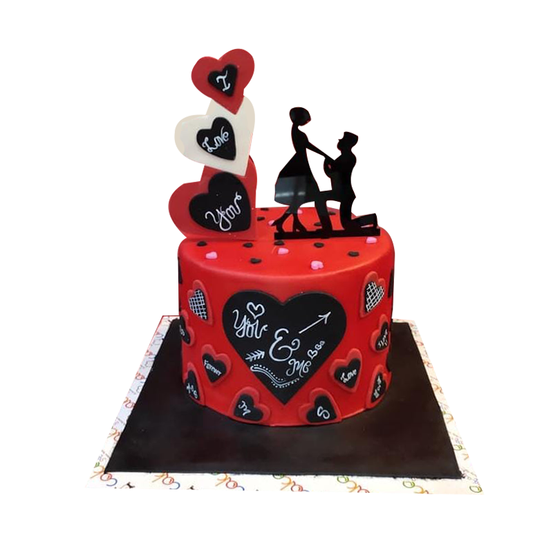 VC 024 Forever Yours Cake
